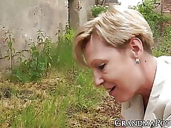Spoiled granny pegging their way young fucker croak review bestial fucked