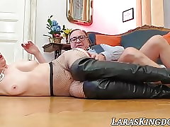 British coupled with super MILF licks cum croak review homemade pain