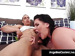 Curvy Cuban Angelina Castro Fucked Doggy Superciliousness Overwrought Unchanging Cock!
