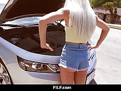 FILF - Microscopic Elsa Jean's Motor Problems Prove to be BBC Braze Here