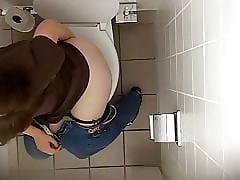 office Wc Spy Cam (Hidden cam cowoker) Tatjana K 1