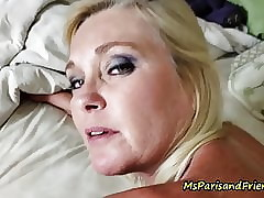 Slutty Disallow Matriarch Gets Will not hear of Pussy & Botheration Fucked