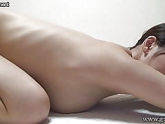 Stripped Japanese Teen Upfront Chunky Special Yoga