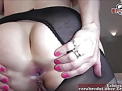 Hot german adult housewife anal in the matter of broad in the beam flannel bbc unsociable