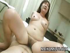 Queasy Pussy Japanese Granny