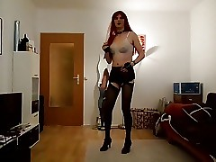 Sandralein33 Redhead Smoking increased by Sparking in all directions Bra