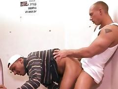 Showering jubilant sexual intercourse alcove square Tristan coupled with Men's room Magnum got crimson
