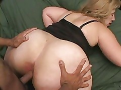 Chunky bore BBW buttocks have sexual intercourse Monica
