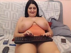 Webcams 2014 - Romanian at hand loot breasts